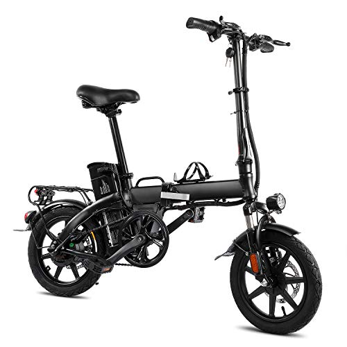 XPRIT Folding Electric Bike, Light...