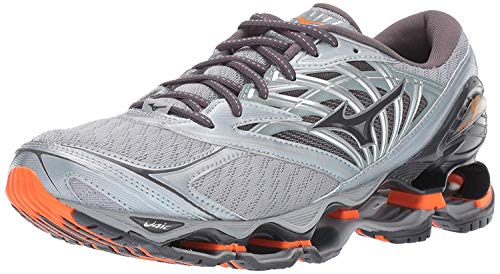 Mizuno Men's Wave Prophecy 8 Running Shoe, Quarry-Graphite, 11 D US