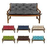 gutekissen Sitzbank-Kissen für Terrasse Rasen Gartenschaukel