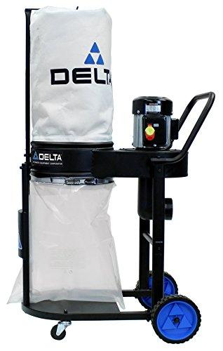 Delta Power Equipment 50-723T2 1 hp Dust Collector, Black