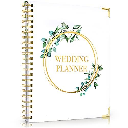 Beautiful Greenery Wedding Planner Book and Organizer -...