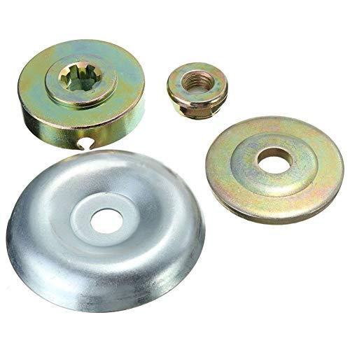 Kit di fissaggio per lama decespugliatore, 4 pezzi in metallo per sostituzione testa tosaerba