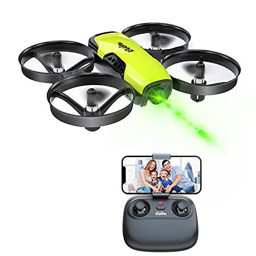 Loolinn   Drone Giocattolo con Telecamera per Bambini - Mini Quadricottero Radiocomandato con Videocamera Orientabile, Trasmissione in Tempo Reale di Foto e Video in FPV ( Idea Regalo )