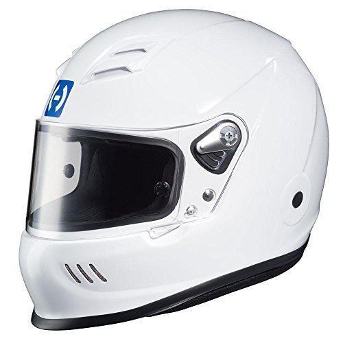 HJC Helmets HJC-2WL15 White AR-10 III SA2015 Racing Helmet Large