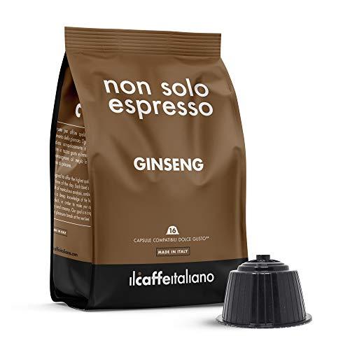 Il Caffè Italiano - 48 Capsule compatibili Nescafè Dolce Gusto al Ginseng - Frhome