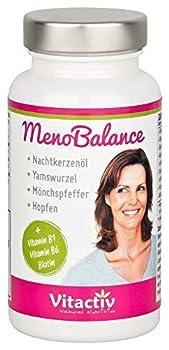 MenoBalance wurde speziell für die Wechseljahre entwickelt. Die einzigartige Kombination der natürlichen, hormonfreien Inhaltsstoffe ist speziell auf die Linderung der typischen Symptome abgestimmt. 100% natürliche Inhaltsstoffe wie: Nachtkerzenöl, M...