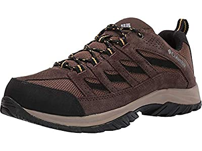 ADVANCED TECHNOLOGY: Columbia Men's Crestwood Hiking Shoe features our lightweight, durable midsole for long lasting comfort, superior cushioning, and high energy return as well as an advanced traction rubber sole for slip-free movement on rough grou...