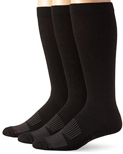 Wrangler Men's Western Boot Socks (Pack of 3),Black,Sock...