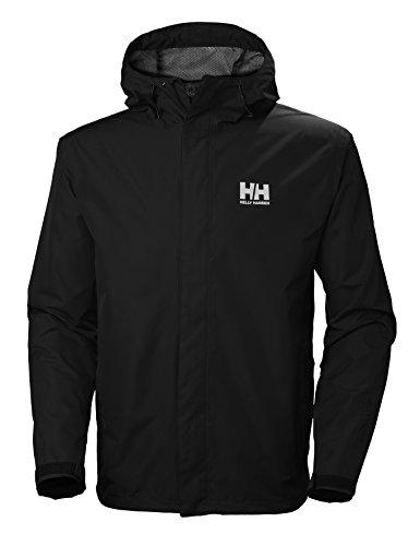 Helly Hansen - Men's Seven J Waterproof Windproof Breathable Rain Coat Jacket
