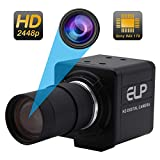 This is a varifocal 5-50mm lens 2448P usb camera,manual focus adjustable. To avoid to get poor and unclear pictures and extremely dark and strange colors, please after connecting the usb camera,please adjust the aperture and clarity to get you want t...