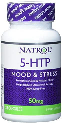 Natrol 5-HTP 50 mg (30) Standard, 15 g