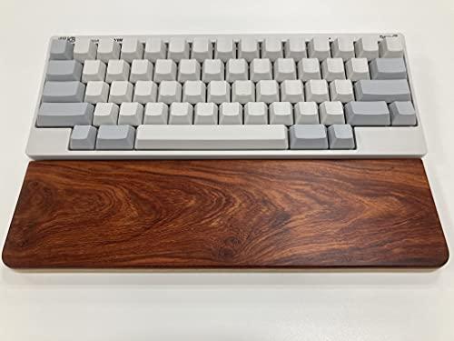 HHKB Professional HYBRID Type-S unmarked / white (English layout), wood palm rest set (rosewood)