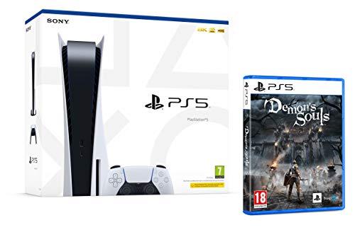 PS5 Konsole Sony PlayStation 5 - Standard Edition, 825 GB, 4K, HDR (Mit Laufwerk) + Demon's Souls