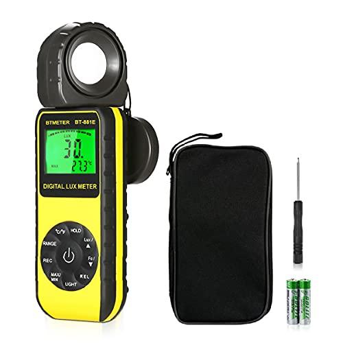 BTMETER BT-881E Digital Illuminance Meter
