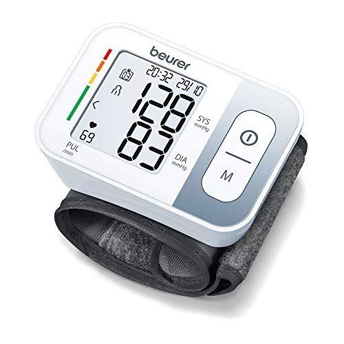 Beurer BC 28 Fully automatic blood pressure and pulse measurement wrist blood pressure monitor (Cuff...