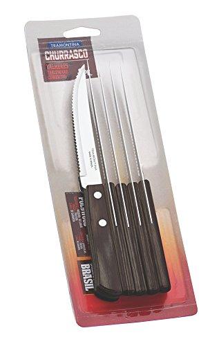 Tramontina 29899/155 - Set di coltelli, in acciaio inox, marrone, 30 x 30 x 30 cm