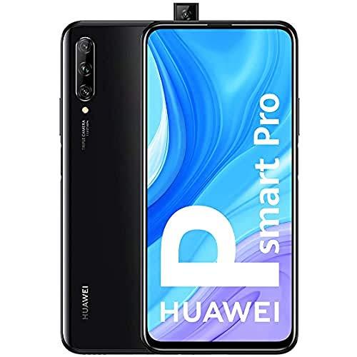 "HUAWEI P Smart Pro - Smartphone con Pantalla Ultra FullView FHD+ de 6.59"" (6GB de RAM + 128GB de ROM, Triple Cámara IA de 48MP, 4000 mAh, Android 9) Color Negro"