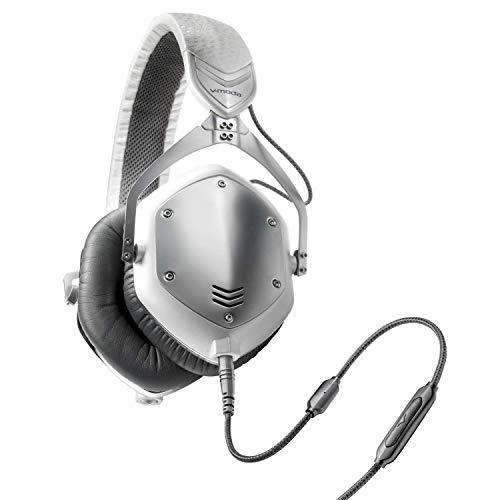 V-MODA Crossfade M-100, Cuffie con isolamento acustico, Bianco