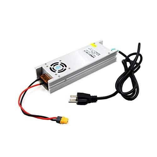 SHUGJAN Lantian 24V 16.6A 400W di alimentazione elettrica Adapter XT60 for ISDT Q6 SKYRC B6 NANO caricabatteria RC Drone FPV corsa Parti di assemblaggio RC (Color : UK Plug)