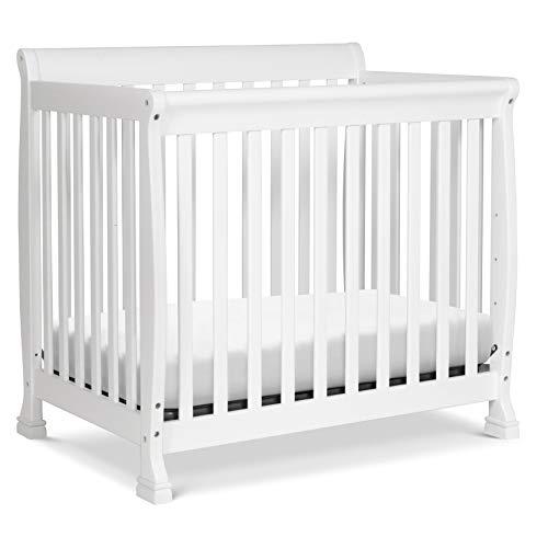 Product Image 1: DaVinci Kalani 4-in-1 Convertible Mini Crib in White, Greenguard Gold Certified