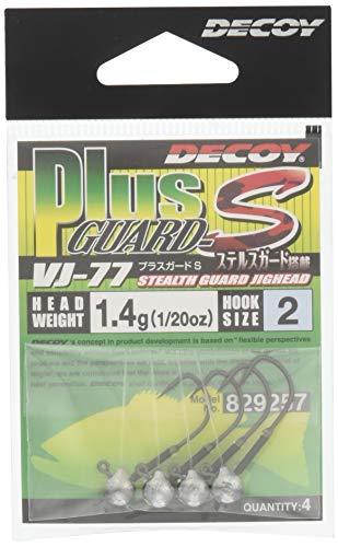 カツイチ(KATSUICHI) ジグヘッド デコイ VJ-77 プラスガードS #2-1.4g.