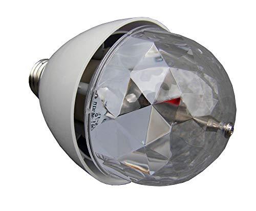 ETEC RGB LED E27 Magic Ball - Effektstrahler Scheinwerfer Lampe Fassung Party Disco DJ Club