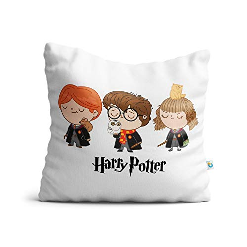 Almofada harry potter personagens chibi