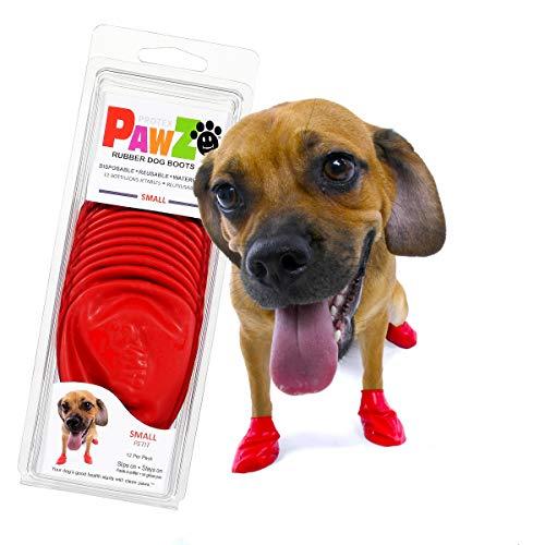 PawZ Dog Boots | Rubber Dog Booties | Waterproof...