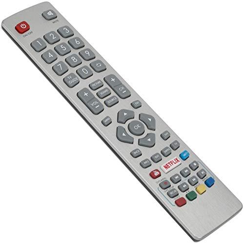 ALLIMITY SHW/RMC/0120 SHWRMC0120 Fernbedienung Ersetzt für Sharp Aquos HD Smart TV with YouTube Netflix NET+