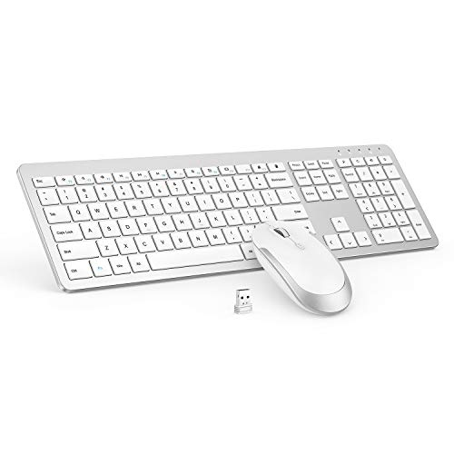 Wireless Keyboard and Mouse Combo - Full...