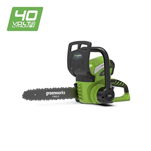 Greenworks Tools 20117 Motosega, 40 V, Verde, 30 cm
