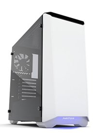 Phanteks PH-EC416PSTG_WT Eclipse P400S Silent Edition with Tempered Glass, Glacier White Cases