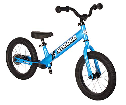 Strider - 14x Sport Balance Bike, Ages 3 to 7 Years, Awesome Blue - Pedal Conversion Kit Sold Separately
