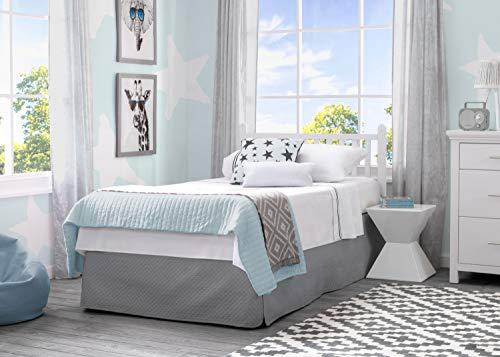 Product Image 11: Delta Children Emery Mini Convertible Baby Crib with 2.75-inch Mattress, Bianca White