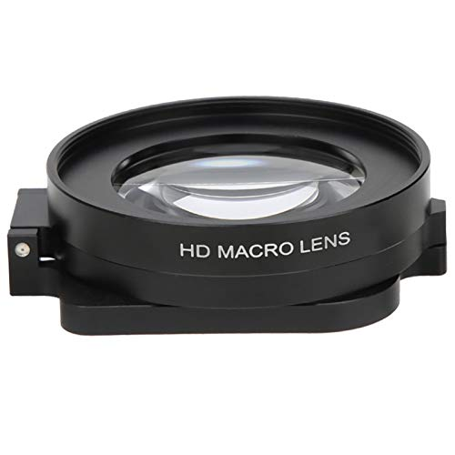 Filtri per Obiettivi Macro 58mm - Filtro per Lenti da Immersione Macro Close Up 16X - per Fotografia Subacquea - per Action Cam GOPRO Hero 8