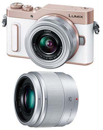 Panasonic ミラーレス一眼カメラ ルミックス GF90 ダブルレンズキット 標準ズームレンズ/単焦点レンズ付属 ホワイト DC-GF90W-W