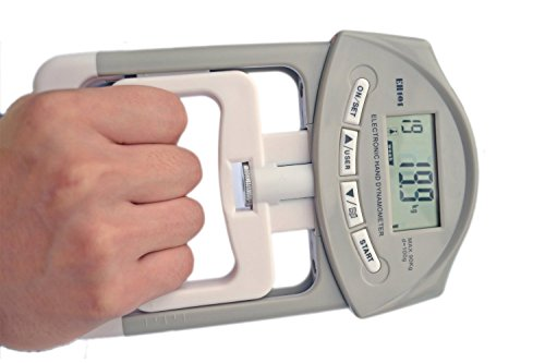Deyard Mano Elettronica dinamometro Grip Forza Meter 90 kg / 200 lbs Gamma di capacità