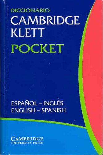 Diccionario Cambridge Klett Pocket Español-Inglés/English-Spanish Flexicover