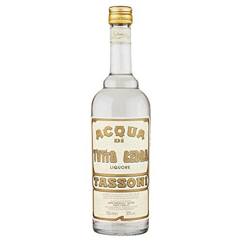 Tassoni Acqua Tutto Cedro 25° Liquore, Cl 70