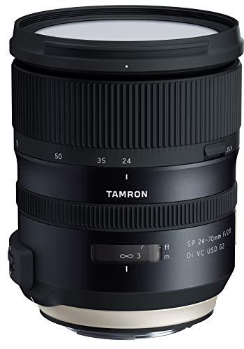 TAMRON 大口径標準ズームレンズ SP24-70mm F2.8 Di VC USD G2 キヤノン用 フルサイズ対応 A032E