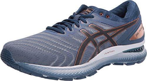 ASICS Men's Gel-Nimbus 22 Shoes, 6M, Glacier Grey/Graphite Grey