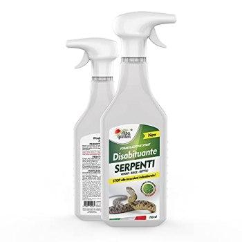 Albagarden - Déshabituant à repousser les vipères et les reptiles, pas de clôtures, effet chasse animaux, sans veines et ultrasons, 750 ml