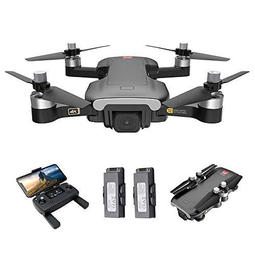 Entweg Drone B7, Mjx Bugs 7 B7 RC Drone con Videocamera 4K 5G WiFi Motore Brushless GPS Posizionamento di Flusso Ottico Track Flight RC Quadcopter 2 Batterie