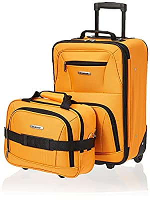 """Upright: 21"""" x 13"""" x 7.5"""" (with wheels) Tote bag: 14""""x 11""""x 5.5"""" Telescoping handle Ergonomic padded top and side grip handles Fully lined Inline skate wheels and stability bar"""