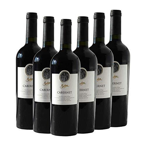 CABERNET BALAN  Vino Rosso Fermo in Bottiglia di Vetro da 0,75 lt Tappo Sughero
