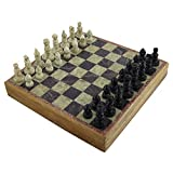 RoyaltyRoute Strategy Board Games for Adults Unique Chess Sets and Board 10 Inches X 10 Inches - Christmas Gifts for Boys, Girls Kids & Children