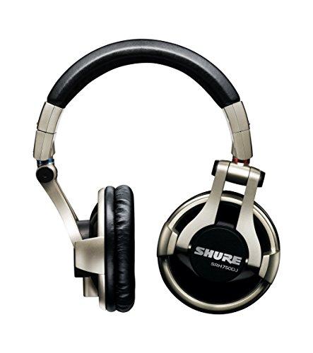 Shure Srh750Dj Cuffie Dj Di Qualit Professionali, Nero/Oro