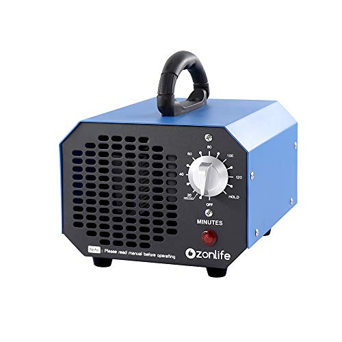 Kommerzieller Ozongenerator 6000mg Ozon Luftreiniger O3 ozonreiniger fuer Zimmer,Autos,Rauch