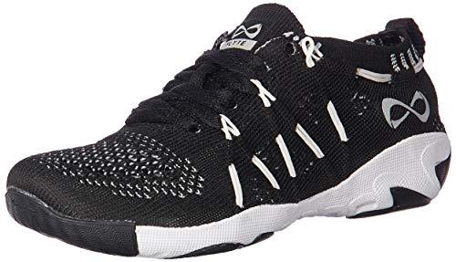 Nfinity womens Flyte Night Cheer Stunt Shoe Sneaker, Black, 5.5 US