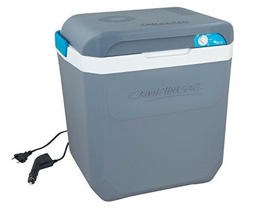 Campingaz power-box plus thermoelectric cooling-box, 12V and 230V, Unisex, 2000030252, Grey-White, 24 litres